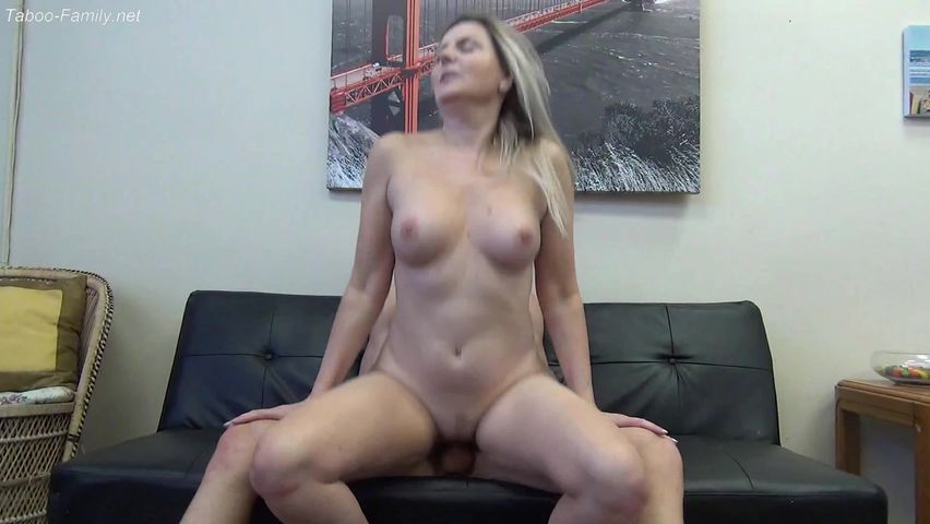 Big Natural Tits Mom Son
