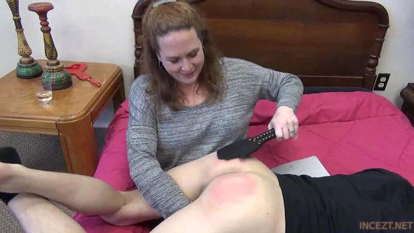 Dad spanking son sex