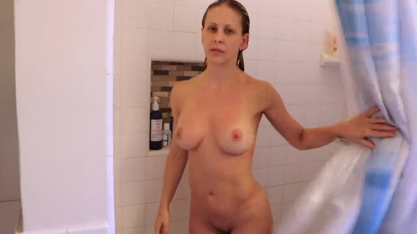 Mom catches son in shower