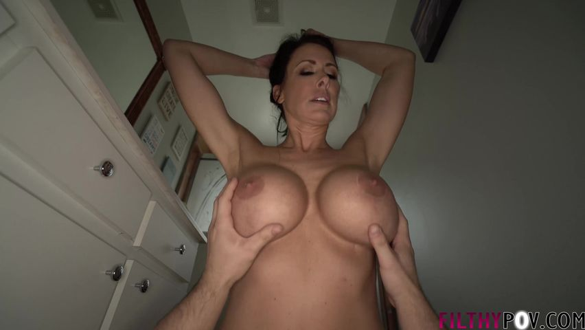 Mom Gets Fucked The Shower