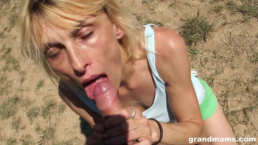 Old Step Mom Fucks Young Son
